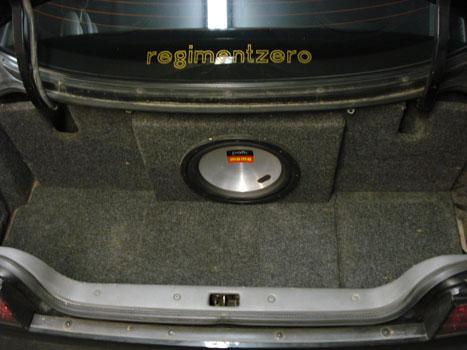 Ny Tenzor Seats And Custom Subwoofer Box And Bandpass